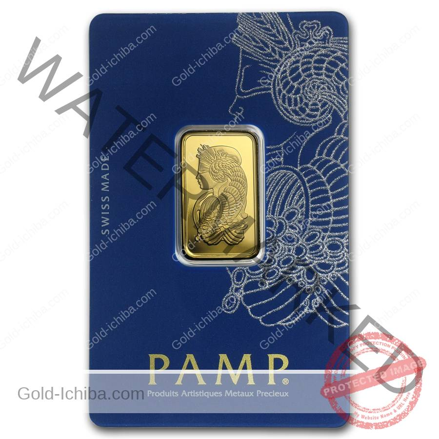 New 10 Gram Pamp Swiss 9999 In Assay 24k Gold Bar 10g