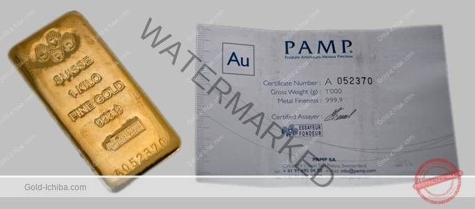 New 1000 Gram Pamp Suisse 24k Gold Bar 9999 With Assay